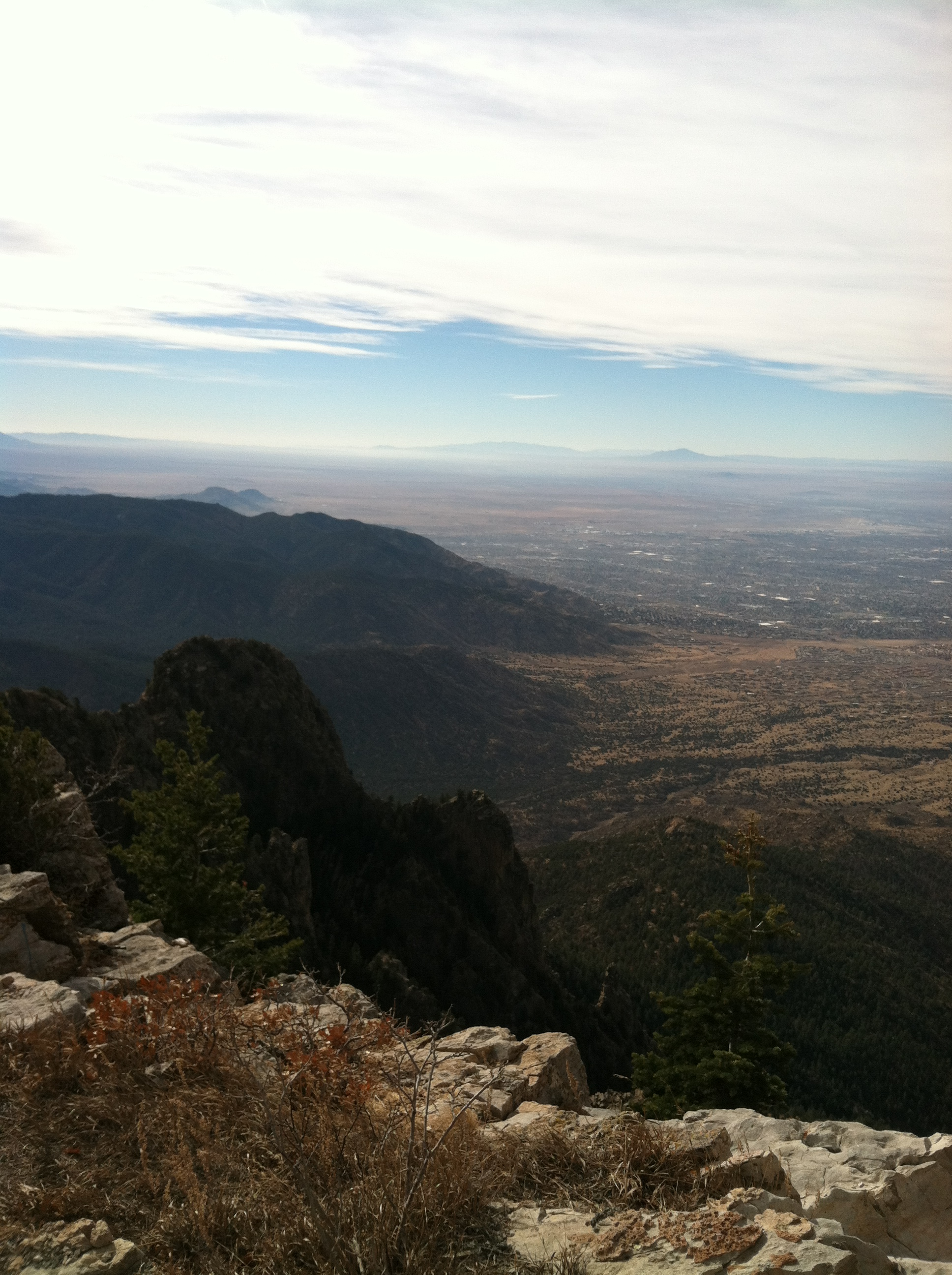 View from Sandia Peak.