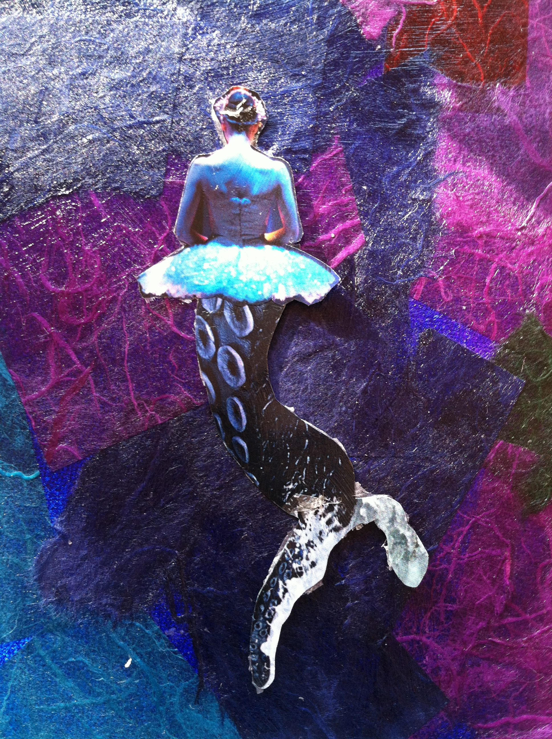 Collage-Art-Mermaid-Ballerina