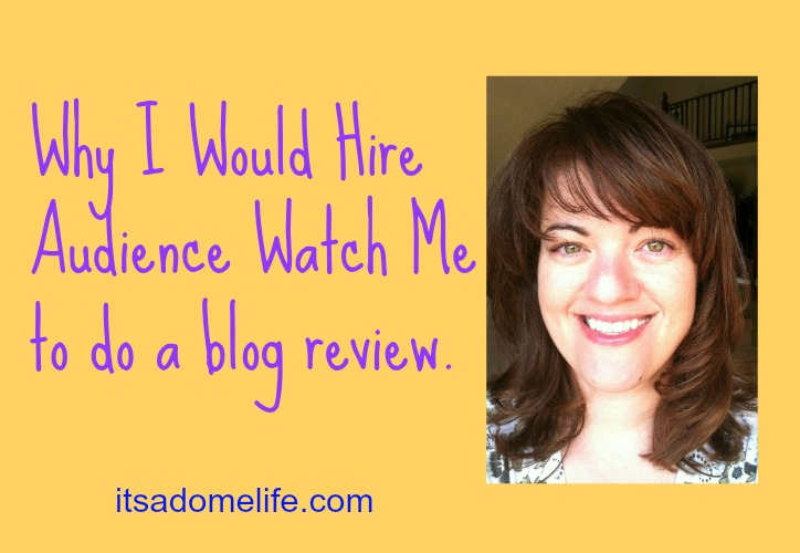 Audience Watch Me Gives Excellent Blog Reviews