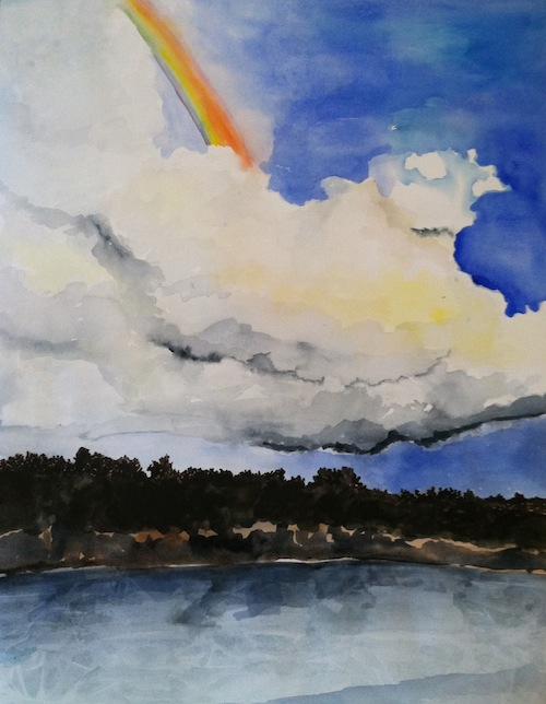 Melissa's Rainbow - Landscapes Day 9